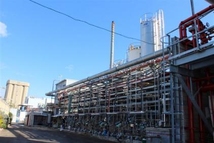 מתקני כימיה - מפעל תרו