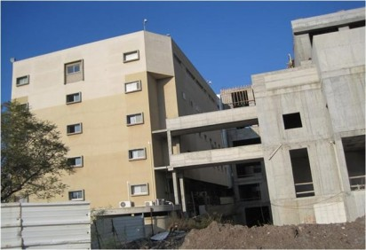 מרכז רפואי העמק - בניין חדרי ניתוח וחדרי לידה
